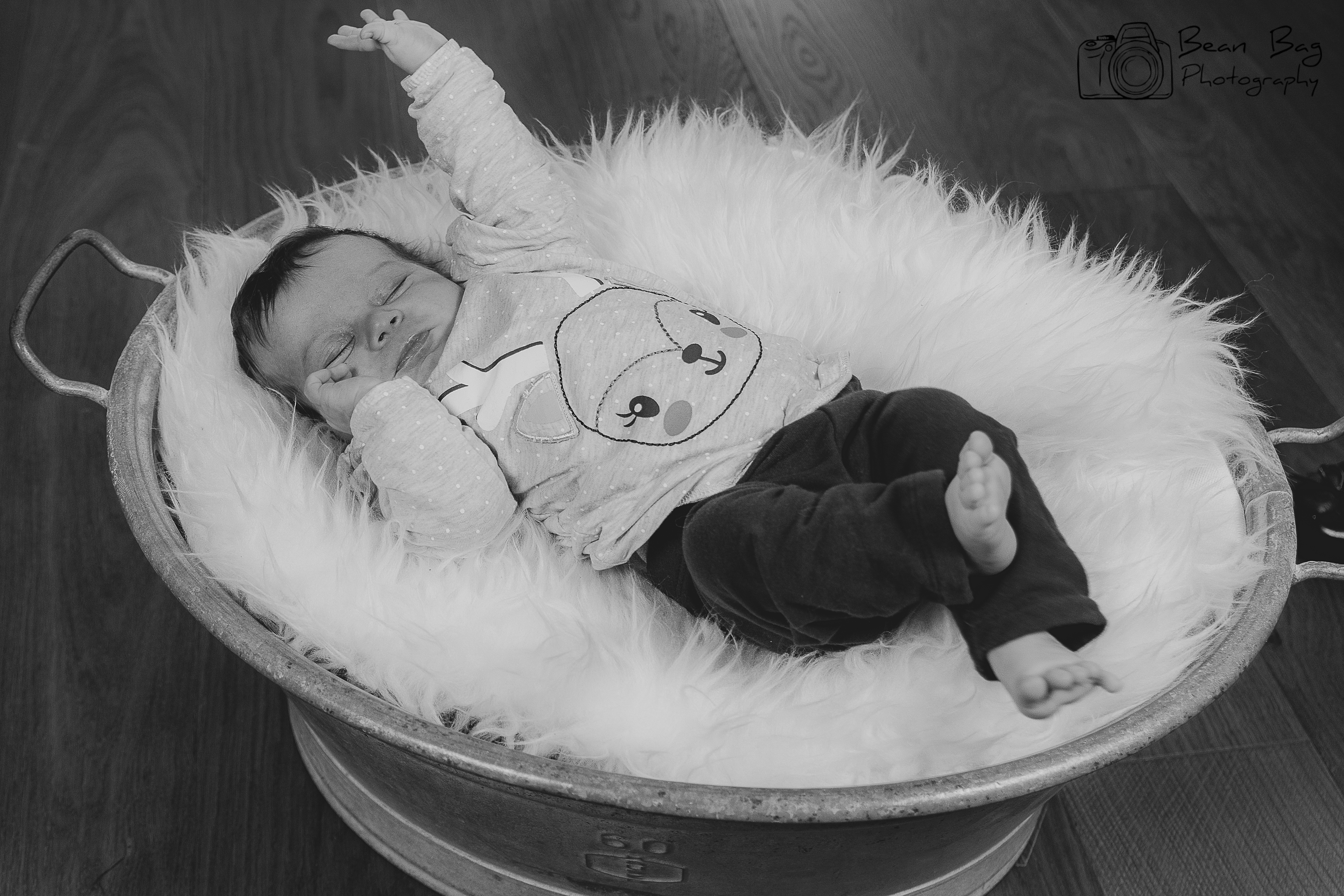 Admirable Newborn Baby Familie Bean Bag Photography Squirreltailoven Fun Painted Chair Ideas Images Squirreltailovenorg